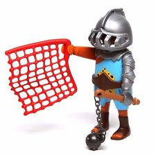 Playmobil Figure Ethnic Roman Gladiator w/ Flail Net Helmet 5817