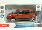 "MondoMotors FIAT 500L ""Rossa""- METAL Scala 1:43"