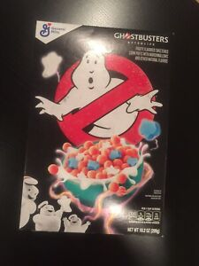 NEW Ghostbusters Afterlife Cereal - General Mills