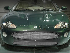Jaguar 2005 2006 XK8 XKR Upper & Lower Bumper Stainless Mesh Grille Package Set