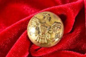 c1883 21mm Antique Indian War Uniform Button Horstman Philadelphia
