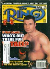 2004 The Ring Extra Magazine: Vitali Klitschko/Jermain Taylor/Manny Pacquiao