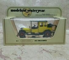 Matchbox Models of Yesteryear 1912 Rolls Royce Y7-3 issue 30  scale1:48 NEW