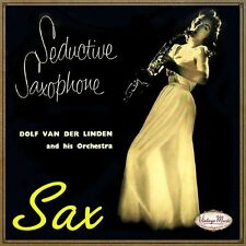 DOLF VAN DER LINDEN CD Vintage Dance Orchestra / Seductive Saxophone Sax Lounge