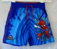 Boys George Blue Red Marvel Spiderman Super Hero Squad Shorts Age 2-3 Years