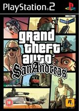 GRAND THEFT AUTO SAN ANDREAS PS2 GAME PAL