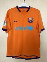 FC BARCELONA 20062008 AWAY  FOOTBALL JERSEY CAMISETA SOCCER MAGLIA SHIRT NIKE