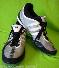 y3 yohji yamamoto ADIDAS sneaker grey black 11 green distressed mesh boxing