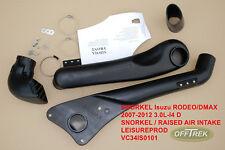 ISUZU RODEO / DMAX 2007-2012 Snorkel - Raised Air Intake VC34IS0101