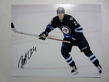 PATRIK LAINE Winnipeg Jets SIGNED Autographed 8X10 Photo w/ COA