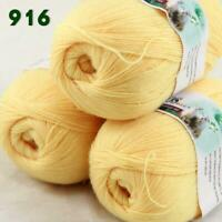 Sale Lot of 3 Skeins x50g LACE Soft Acrylic Wool Cashmere hand knitting Yarn 916