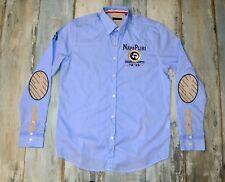 - NAPAPIJRI MEN'S BLUE COLOR CASUAL SHIRT size XXL 2XL