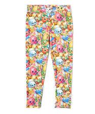NEW Shopkin Leggings Multicolor Girls  - Size 8