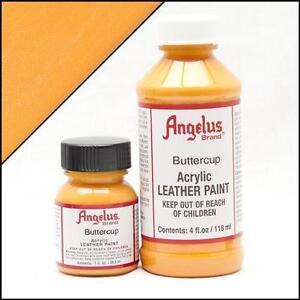 Angelus Butterblume (198) Acryl Lederfarbe 118ml (105,93€/1L) Leder färben