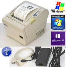 BONDRUCKER KASSENPRINTER EPSON TM-T88III SERIEL USB PASST WIN XP 7 8 10 88-2 #MM