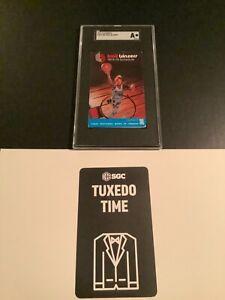 1974-75 Portland Trailblazers Pocket Schedule Bill Walton Rookie SGC Authentic🏆