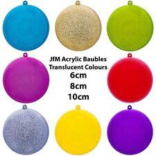 Ball Plastic Christmas Tree Ornaments