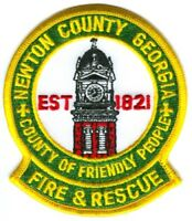 Newton County Fire and Rescue Department Patch Georgia GA v2