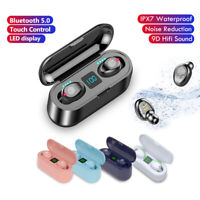 New TWS Wireless Bluetooth Earphones Earbuds Headphones For iPhone Samsung
