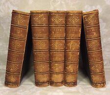Life of George Washington by Washington Irving 1856 5 Volumes Publ G P Putnam NY