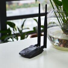 WiFi Wireles Long Range USB  High Power Adapter 802.11B/G/N Antenna LAN Card CF