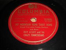 Roy Acuff: My Mountain Home Sweet Home 78 - Columbia 37005