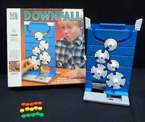 Vintage Downfall MB Games Board Game 1985 Version