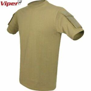CLEARANCE! VIPER TACTICAL T-SHIRT MENS 2XL 3XL HEAVYWEIGHT TOP SECURITY AIRSOFT