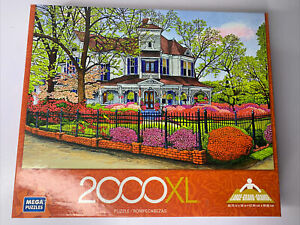 "Mega Puzzles 2000XL Hunter House, Madison, GA Jigsaw Puzzle 27"" X 39"" (P-115)"