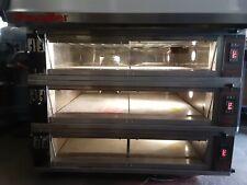 Pavailler RUBIS 4B Electric Artisan 3-Deck Brick Oven Pizza