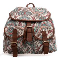 New Festival backpacks ladies paisley pattern duffle bag rucksacks travel new