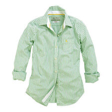 Jack Wills Cotton Fitted Striped Tops & Shirts for Women