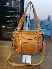 FOSSIL Brown Leather Handbag Should