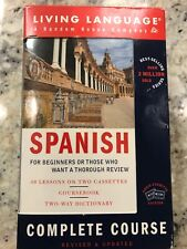 Living Language Spanish Complete Course For Beginners - Cassette Edition