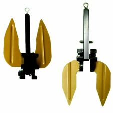 Digger Anchor - Heavy Duty WEED PROOF Boat & Pontoon Fluke Anchor Small - Large