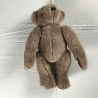 """Greensward Plush Bear VTG Fully Jointed 12"""" Stuffed Teddy Toy Kids Collectible"""