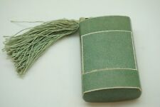 Antique Perfume Presentation Box For Nuit De Noel Caron Tassel Green No Bottle