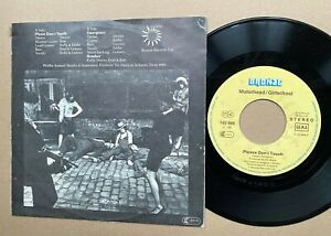 "MOTÖRHEAD . don't touch 7"" EP Germany 1981 IMPORT Girlschool ! Metallica AC/DC"