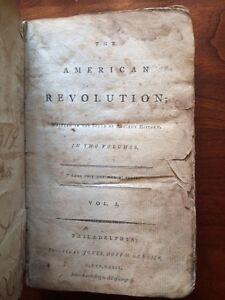 Very RARE 1793 American Revolution History, Boston Tea War, Philadelphia imprint