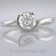 Platinum Excellent Cut Not Enhanced VS1 Fine Diamond Rings
