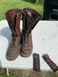 whites boots Size 9 EE 14inch