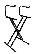 Ultimate Support IQ-2200 Two Tier Level Keyboard Stand FREE SHIPPING TO LOWER 48