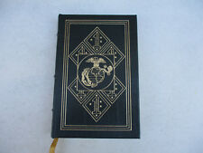 Easton Press Guadalcanal Diary World War 2 WW2 Leather Cover USMC Gift 2001