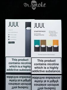 JUUL SET .Device V2 model . Unit and 4 fillings