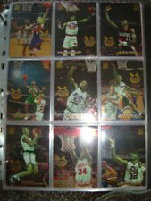 Not Autographed Basketball Trading Cards Set 1993-94 Season