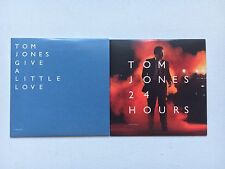 TOM JONES - 24 HOURS PROMO CD ALBUM + GIVE A LITTLE LOVE 1 TRACK PROMO CD