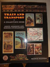 Book Train and Transport: A Collector's Guide by Janice Anderson 22x29cm