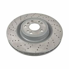 Pair of Front Brake Disc Fits Mercedes-Benz OE 1664211500 Blue Print ADU174366