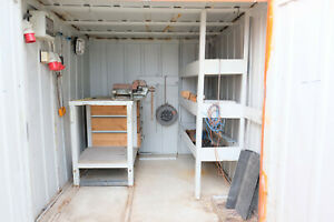 Container / Lagercontainer 6FT / mobile Werkstatt