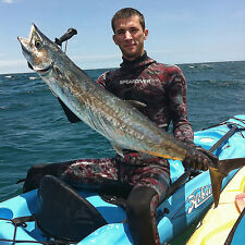 SPEARFISHING WETSUIT SPEARDIVER PREDATOR 3mm camo freediving two piece open cell